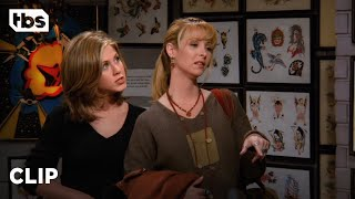 Friends: Phoebe and Rachel Get Tattoos (Season 2 Clip)   TBS