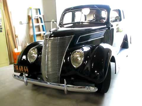 1937 ford 2 door humpback 35k actual miles running youtube for 1937 ford 4 door humpback