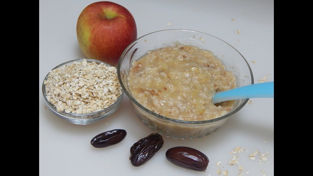 Healthy baby food recipe oats apple porridge l oatmeal with apple healthy baby food recipe oats apple porridge l oatmeal with apple dates l 8 months youtube ccuart Image collections