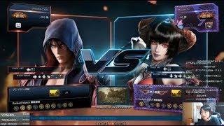 【鉄拳7/家庭用】CHIKURIN(JIN/羅刹 ) vs Megane-TS-(ELIZA/羅刹) CHIKU...