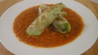 Cabbage Rolls In Tomato Gravy