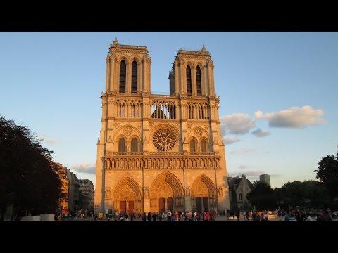 3 Days In Paris, France -1- the Seine, Left Bank, Place Saint-MIchel, Notre Dame