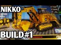 Nikko CAT mining excavator machine maker build part#1