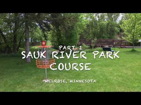Sauk River Park Disc Golf Course Part 1