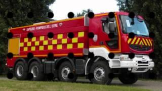 Véhicules de pompiers et de secours