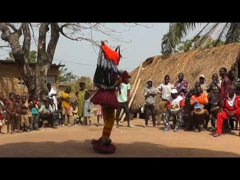 Danse De Zauli,  Côte D'Ivoire 2018