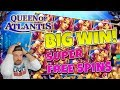 Queen of Atlantis BIG WIN - Huge win on Casino Games - free spins (Online Casino)