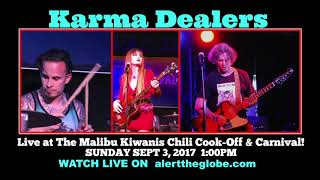 Karma Dealers live at the 2017 MALIBU CHILI COOK OFF
