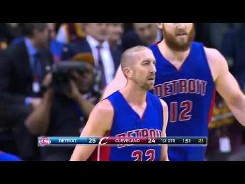 Detroit Pistons VS Cleveland Cavaliers 16 Three Point Field Goal