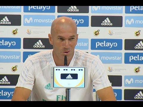 Zinedine Zidane anunció que renovó contrato como entrenador con el Real Madrid