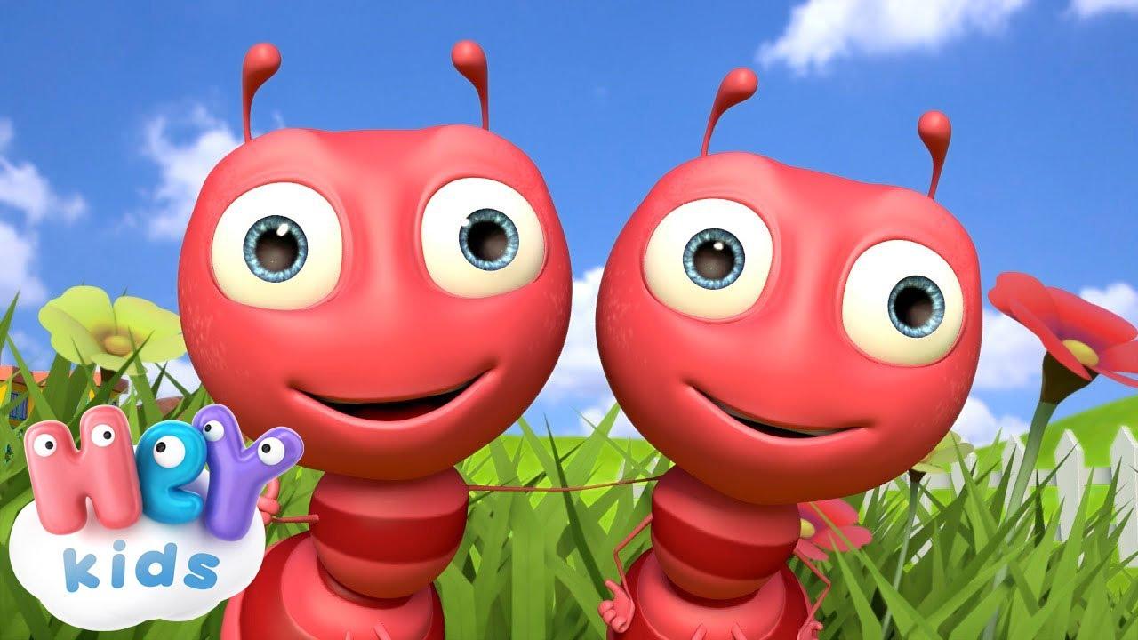 Трудится как муравей - Песенка про Муравья - Песни Для Детей