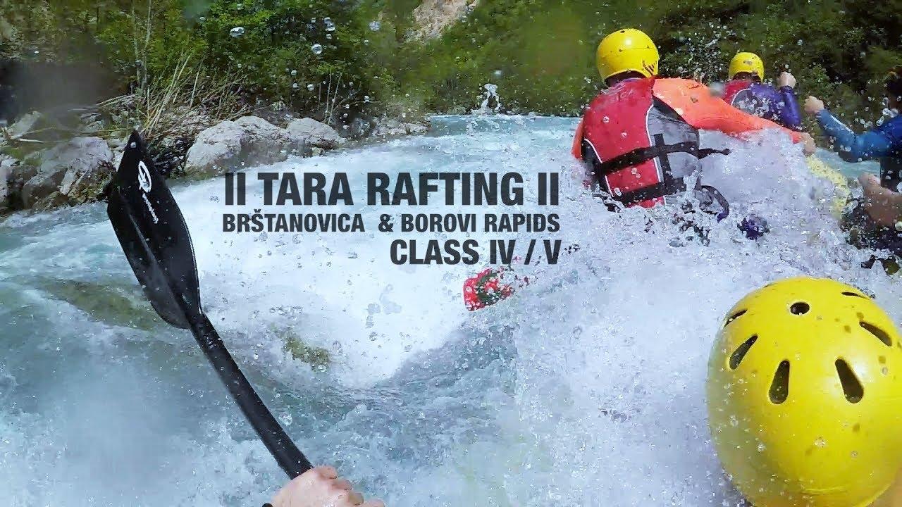 Ii Tara Rafting Ii Brštanovica Borovi Rapids Ii 29042018 Ii
