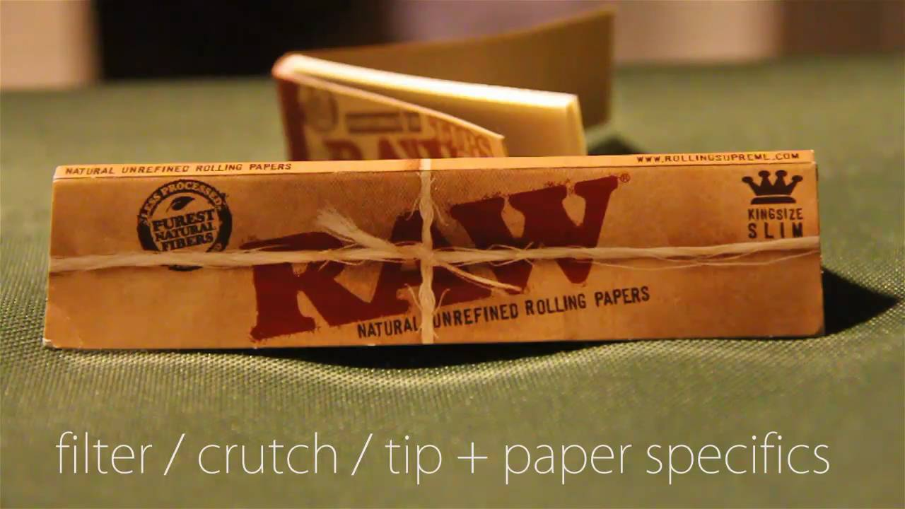 How To Roll A Filter Crutch Tip For Your Joint Paper