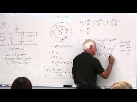 Fluid Mechanics: Fluid Statics Examples (7 of 18)