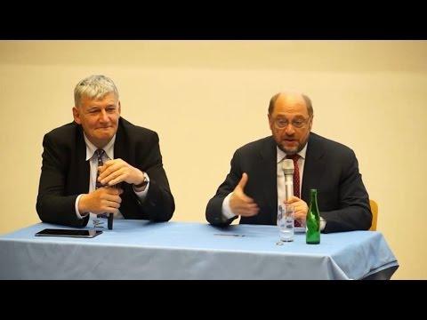 Martin Schulz besucht die RWTH