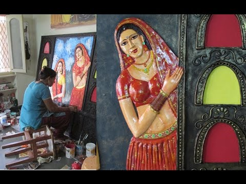 3d wall mural finished youtube for 3d mural painting tutorial