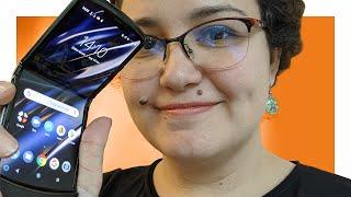 Motorola Razr: 4 pontos ESSENCIAIS sobre ele - Hands-on e opinião