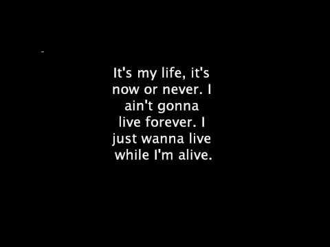 """Bon Jovi's """"It's My Life (Acoustic)"""" Lyrics"""