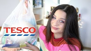 FOOD HAUL Z TESCO | Co kupuję do jedzenia?