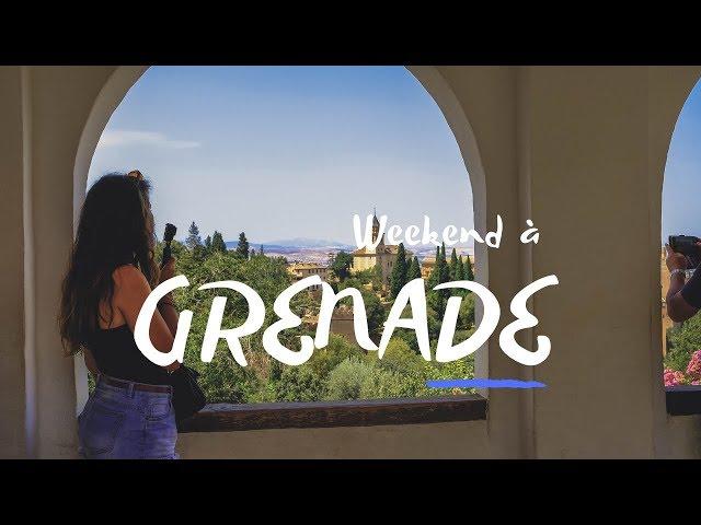 GRENADE VS SEVILLE ? Notre week-end à Grenade !