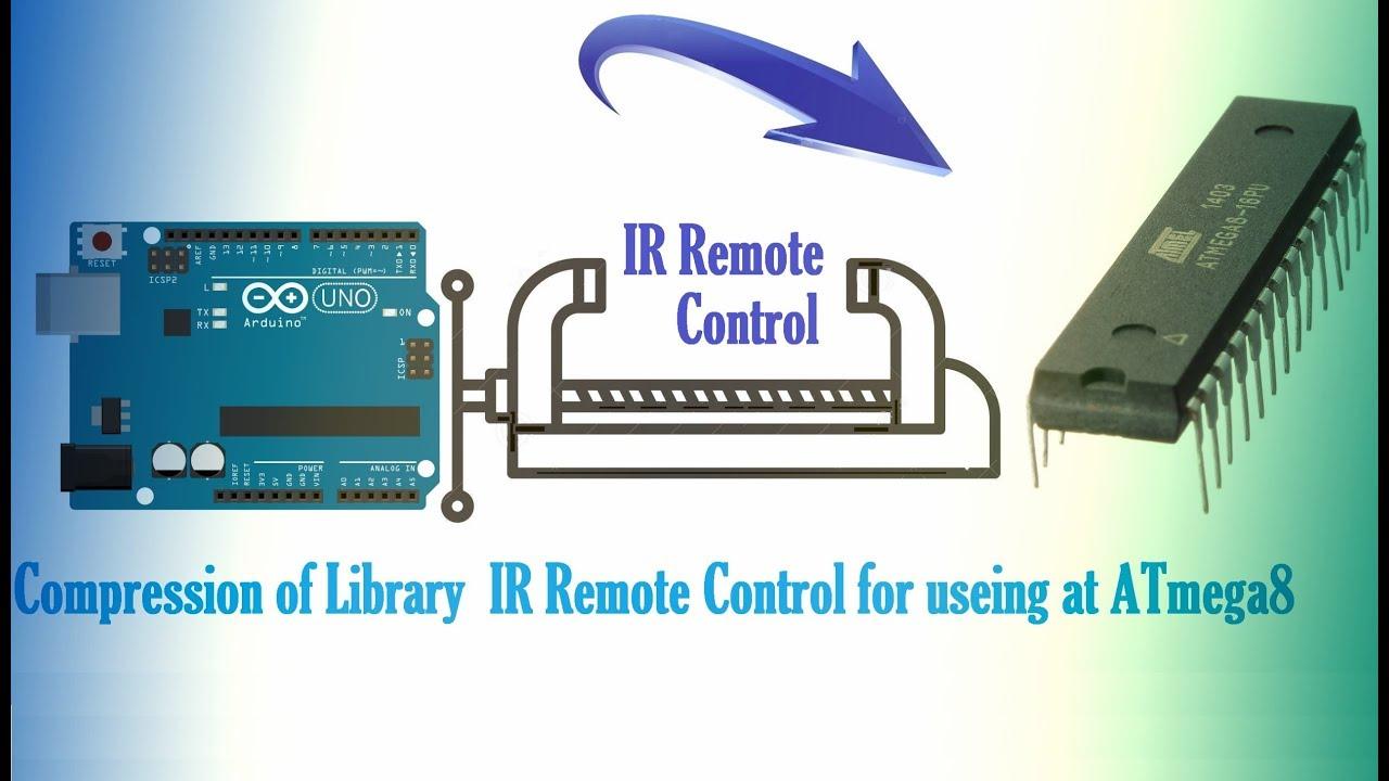 Ir Remote Control Library For Atmega8 Youtube Keymemoryinfraredremotecontrolreceivercircuit