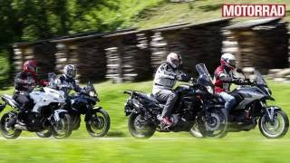 Crossover-Bikes im Vergleichstest