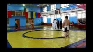 Чемпионат Владивостока по сумо. Sumo championship Vladivostok, Russia.