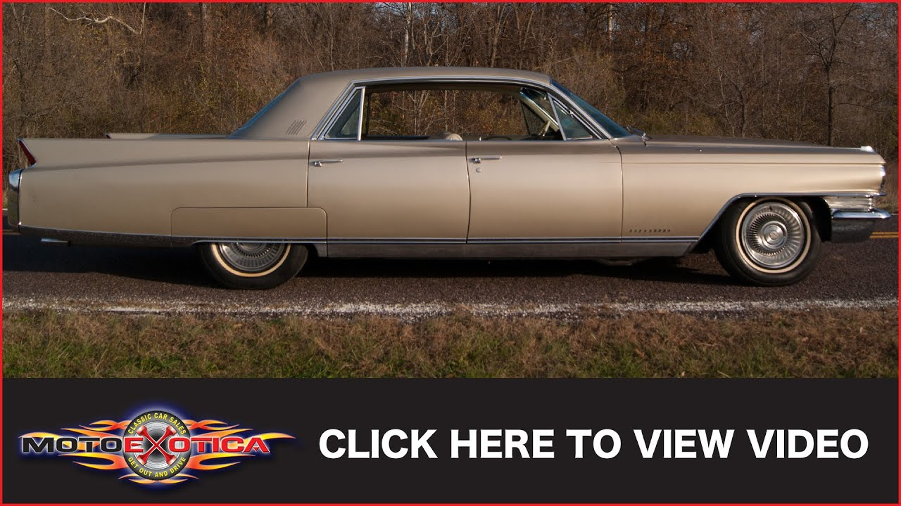 1963 Cadillac Fleetwood (SOLD) - YouTube