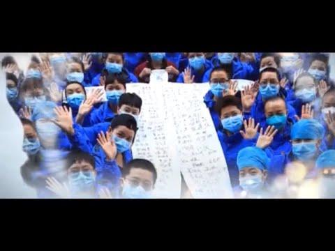 佟丽娅蔡徐坤合唱抗疫歌曲《山河无恙在我胸》【抗疫公益歌曲 Coronavirus Song】