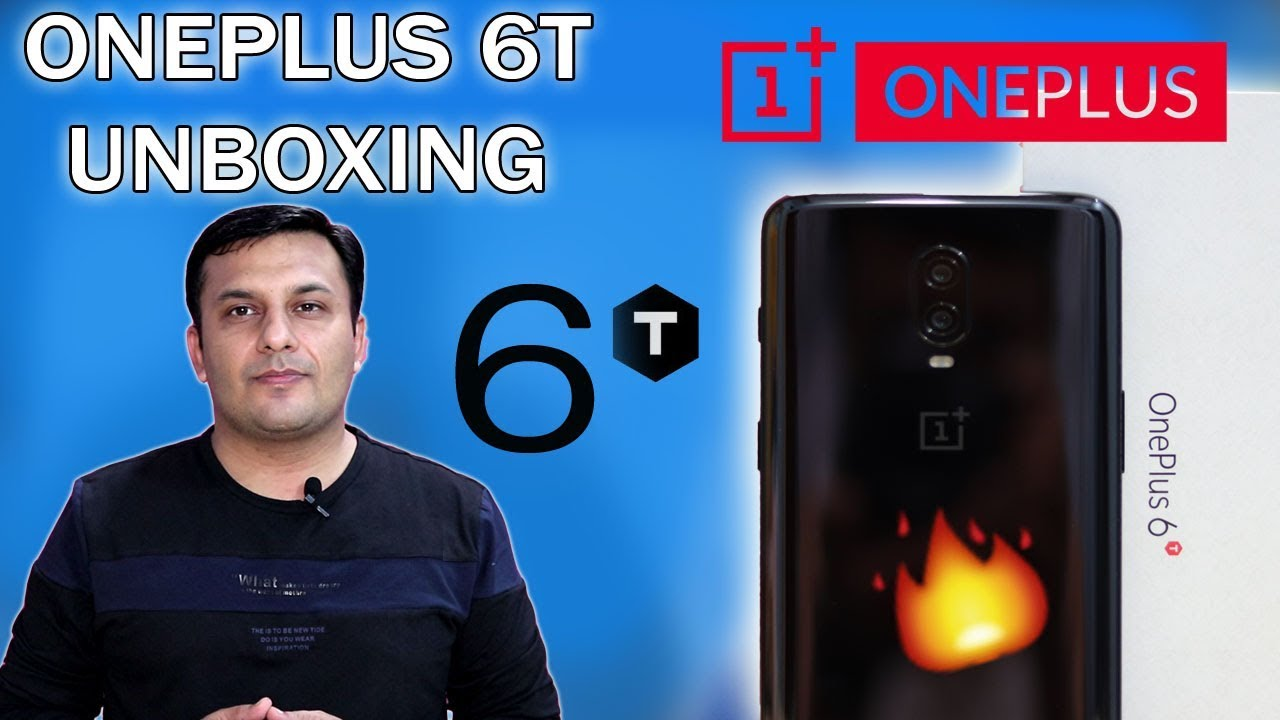 oneplus 6t unboxing pakistan | notch with power | Technology INN
