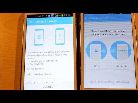 How to transfer contacts and documents from Samsung to Samsung