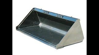 ковш на мини погрузчик BOBCAT S175 сырая конструкция