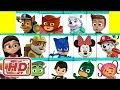 PLUS Huge PJ Masks Paw Patrol Disney & Nick Jr.  Toy Surprise Blind Box Show!