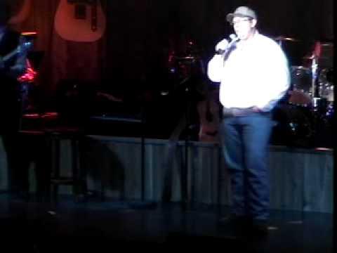Jeff Richards sings at the Kentucky Opry