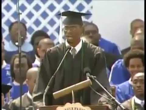The greatest speech of alphabets by African graduate