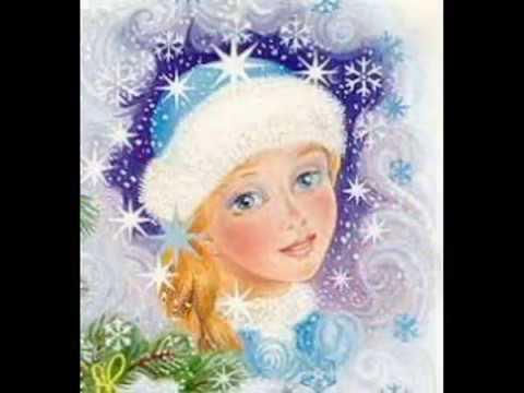 Лицо снегурочки крупным планом рисунок, открытки атласными