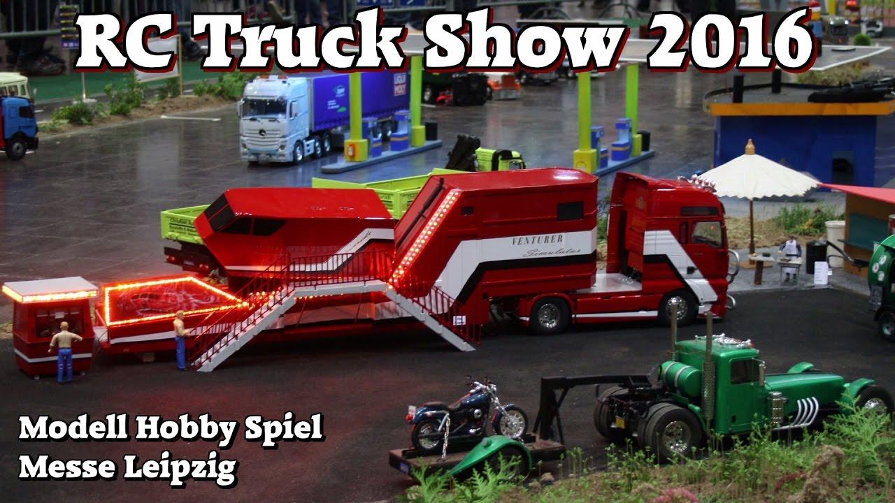 rc truck show 2016 scale 1 14 5 u a lkw von andreas schubert modell hobby spiel leipzig 2016. Black Bedroom Furniture Sets. Home Design Ideas