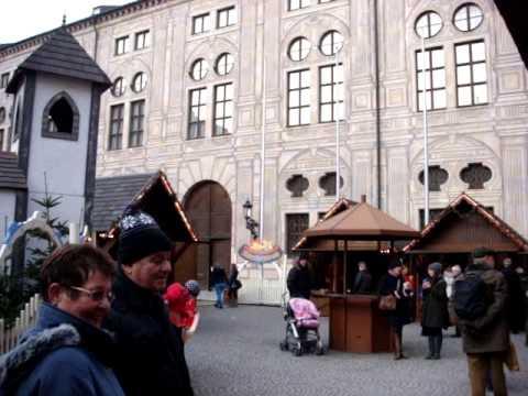 Munich Christmas Markets in Munich Residence, Trafalgar Winter Imperial 2012 MOV09654.MPG