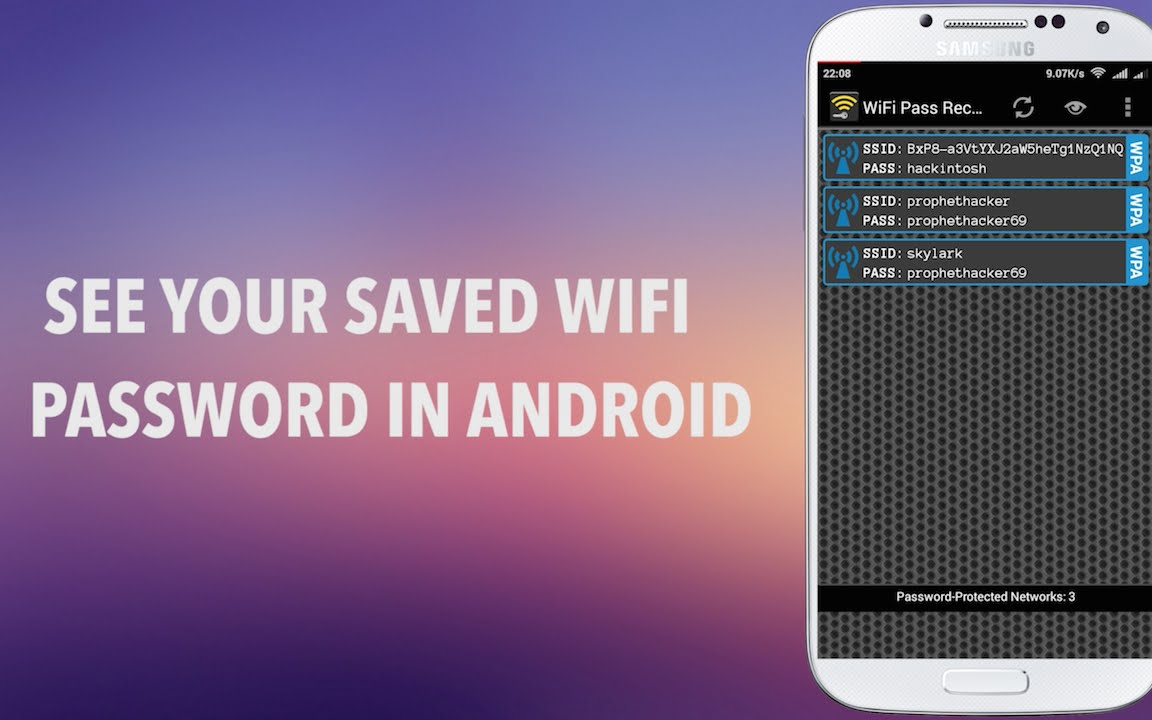 How To View Saved Wifi Password In Android Mobile Needs Root Youtube
