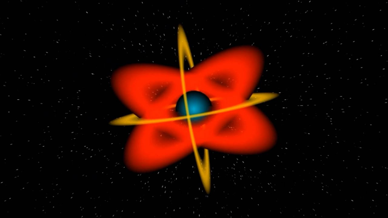 Atomic Power Structure And Nuclear Nucleus With Sound 3D Animated HD Animation