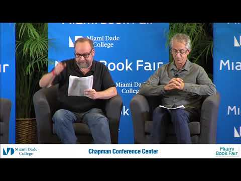 Paul Giamatti, David Strathairn, Bryan Dorries   The Theater of War,  - Miami Book Fair 2016