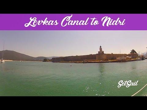 Sailing Through Greece: Ionion, E6 Levkas Canal to Nidri