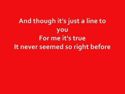 Something Stupid - Glee - Brittany and Sam (Lyrics)