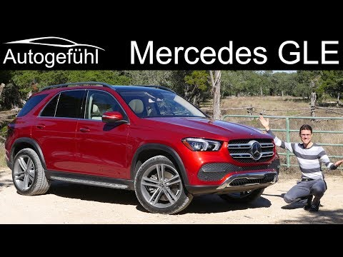 Mercedes GLE 450 FULL REVIEW all-new 2020 2019 - Autogefühl
