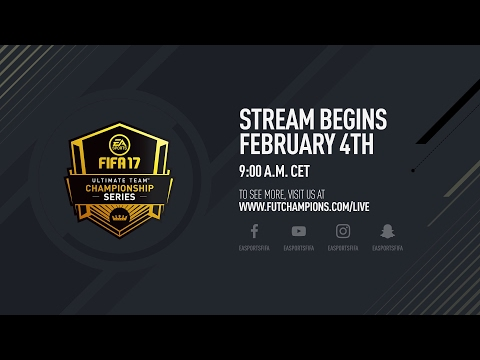 FIFA 17 - Ultimate Team Championship Series - Paris Regional Final Live Knockout Round