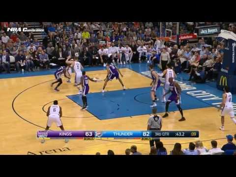 Sacramento Kings vs Oklahoma City Thunder   Full Highlights  March 18 2017
