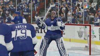 NHL 17 - EASHL Goalie #6 - SOLID GAME!