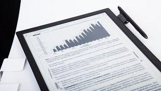 Обзор бизнес-ридера Sony DPT-S1: 13-дюймовый гигант с экраном E ink Mobius