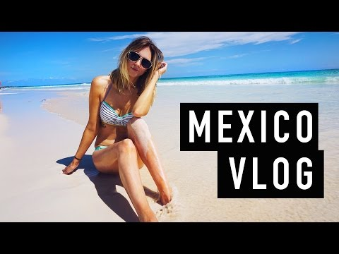 MEXICO VLOG! Cartwheels Coconuts + Cliff Jumping