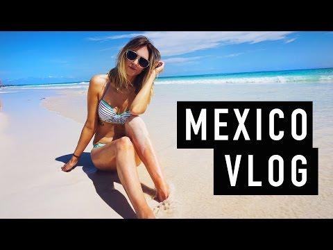 MEXICO VLOG! Cartwheels Coconuts + Cliff Jumping thumbnail